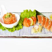 B10 salmon tre gusti